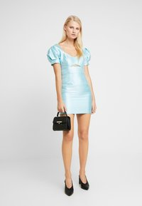 Mossman - THE SIREN MINI DRESS - Sukienka koktajlowa - powder blue - 1