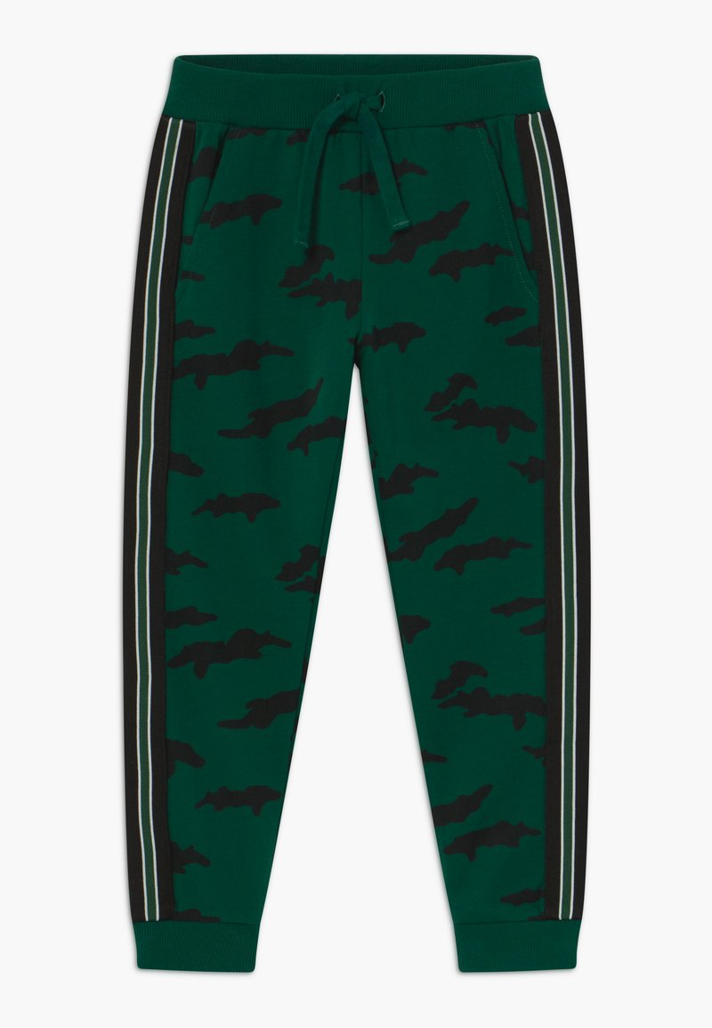 Lindex - MINI TROUSERS STREET PANEL - Tracksuit bottoms - dark green