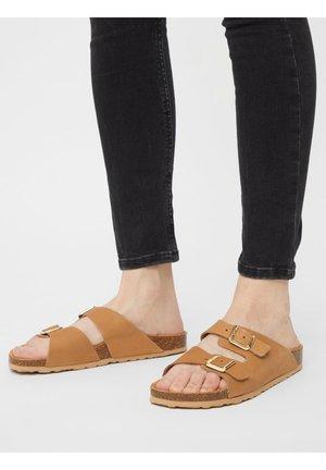 BIABETRICIA - Slippers - beige