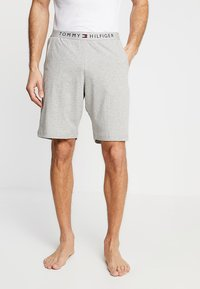 Tommy Hilfiger - SHORT - Pyjama bottoms - grey - 0