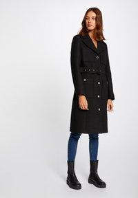 Morgan - Classic coat - black - 0