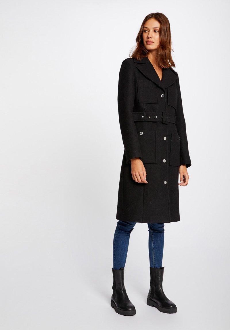 Morgan - Classic coat - black
