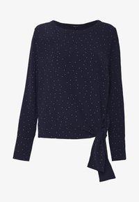 Opus - FLOTA DOT - Long sleeved top - just blue - 3