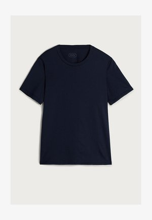 AUS SUPIMA® - Basic T-shirt - blu intenso