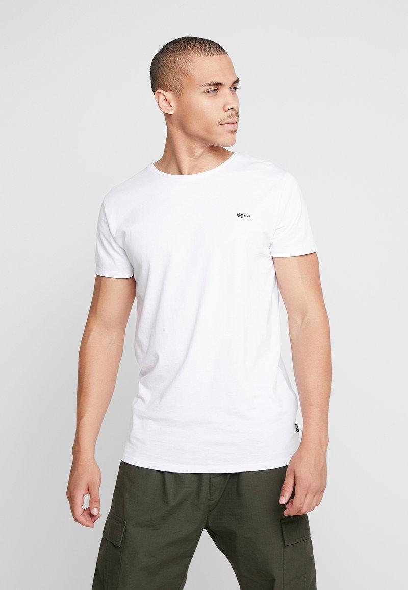 Tigha - HEIN - T-shirt - bas - white