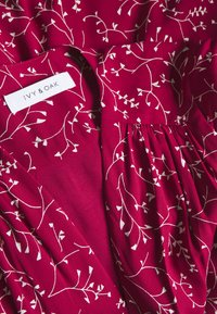 IVY & OAK - WRAP DRESS MIDI LENGTH - Day dress - cassis sorbet - 0