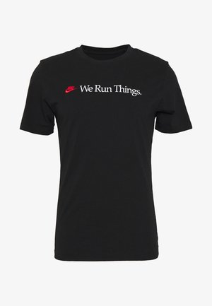 M NSW TEE AIRATHON RUN THINGS - T-shirts print - black