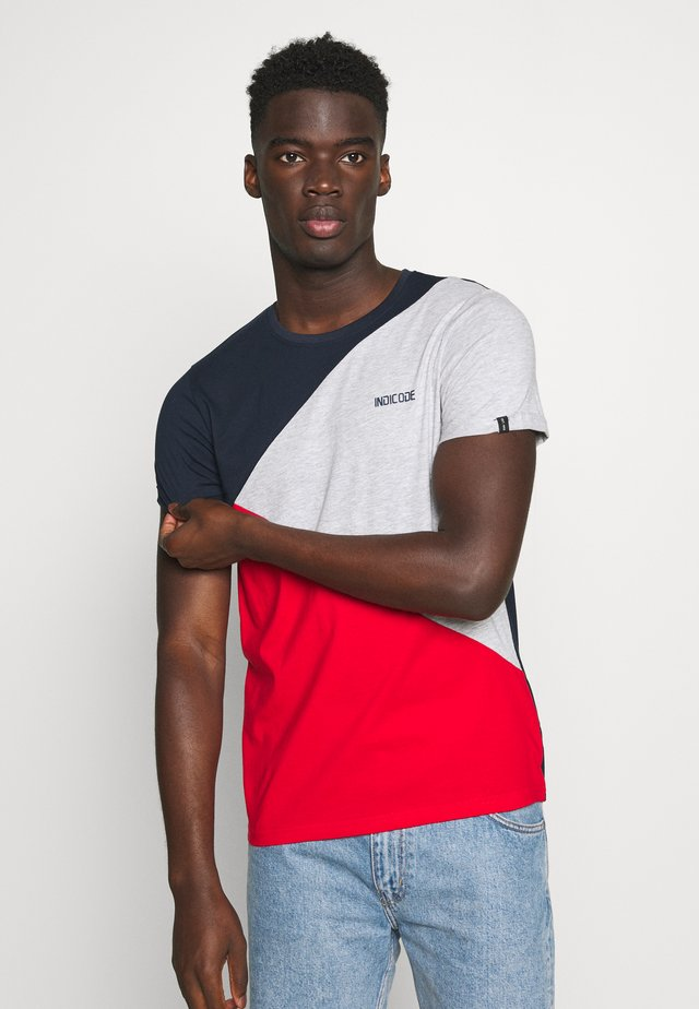 ECHARD - Print T-shirt - goji berry