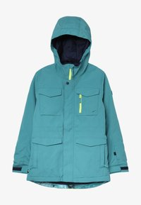 Burton - COVERT - Snowboardjacka - blue/green - 2
