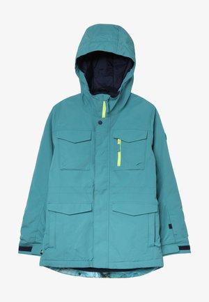 COVERT - Snowboardová bunda - blue/green