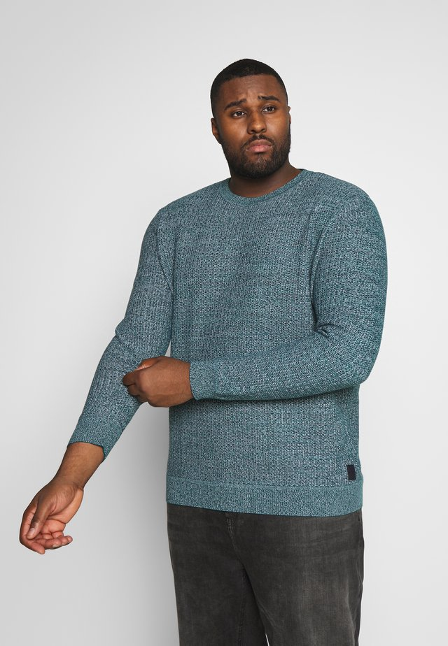 STRUCTURED - Pullover - green