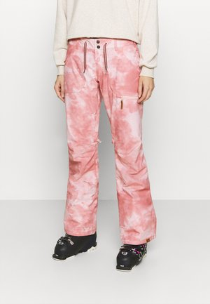 NADIA PRINTED - Spodnie narciarskie - silver pink