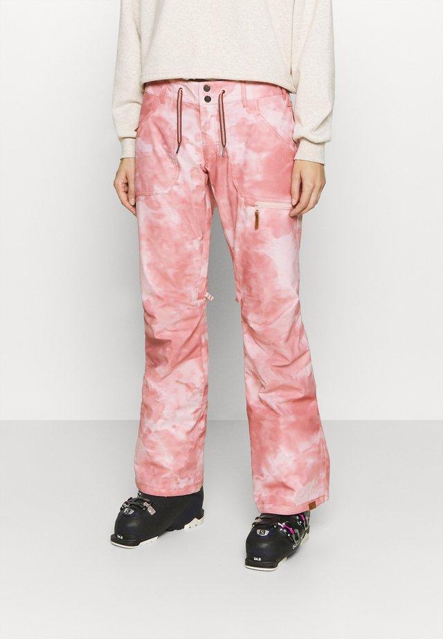 NADIA PRINTED - Pantaloni da neve - silver pink