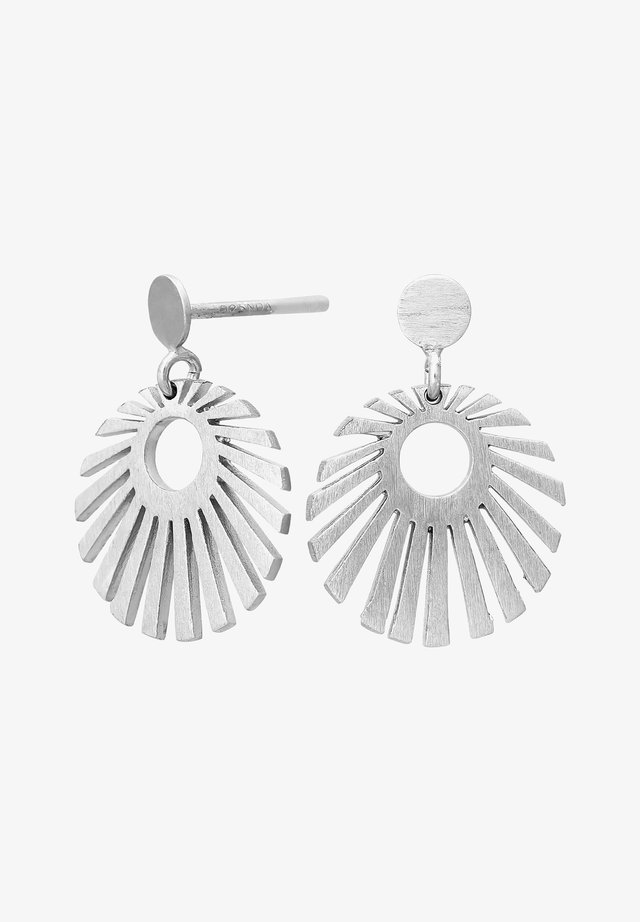 SUN52 - Earrings - silver