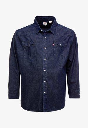 BIG CLASSIC WESTERN - Overhemd - dark blue denim