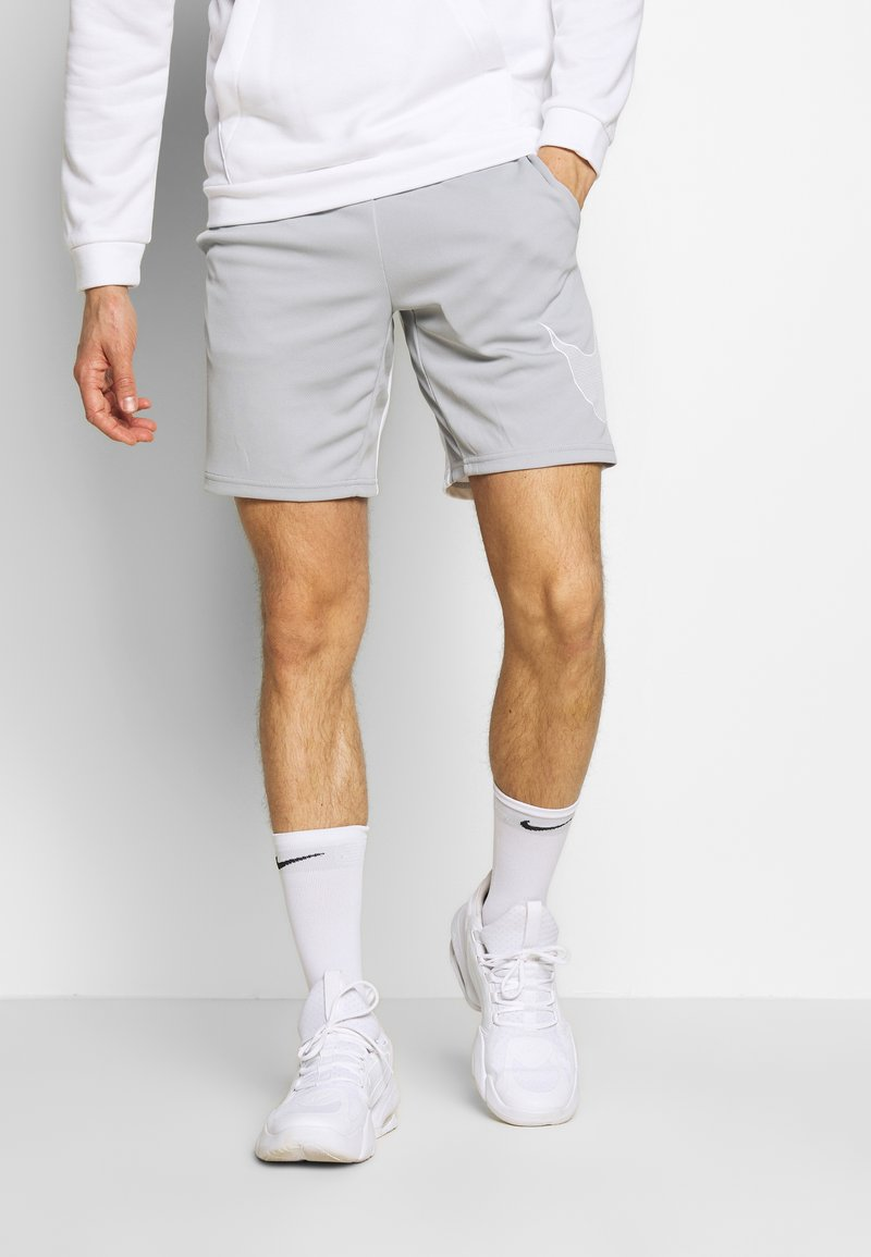 Nike Performance - DRY SHORT  - Pantalón corto de deporte - light smoke grey/white