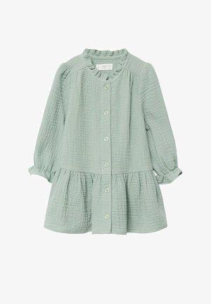 CHIARA - Robe chemise - vert d´eau
