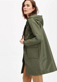 DeFacto - Płaszcz wełniany /Płaszcz klasyczny - khaki - 2