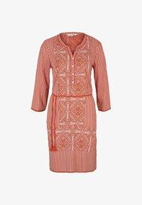 TOM TAILOR - Day dress - red white ethno design - 4