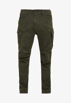 ROXIC STRAIGHT TAPERED - Reisitaskuhousut - dark bronze green