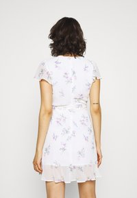 Nly by Nelly - DREAMY FLOUNCE DRESS - Cocktail dress / Party dress - white - 2