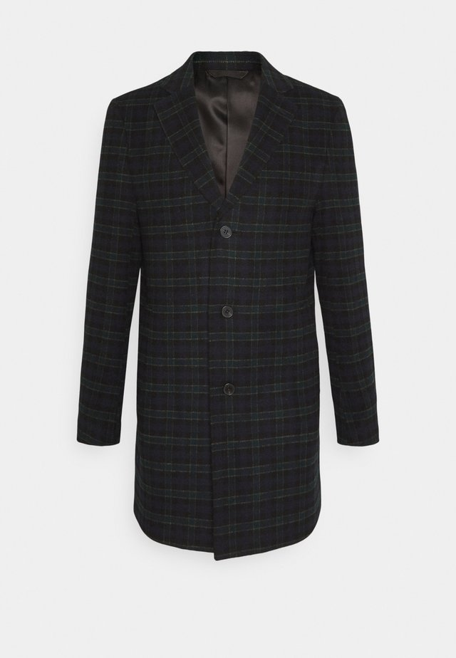 CHECK OPTION - Classic coat - dark blue