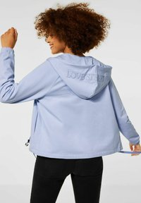 Street One - Sweater met rits - blau - 2
