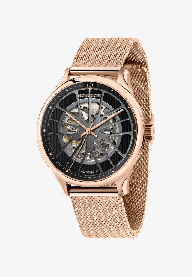AUTOMATIKUHR GENTLEMAN - Horloge - roségold