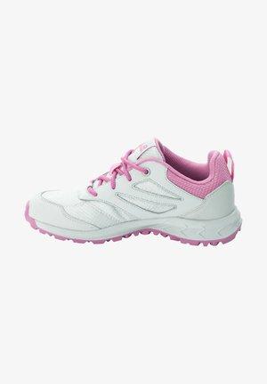 WOODLAND - Hiking shoes - grey pink