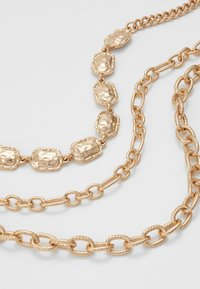 Topshop - 3 CHAIN CHOKER - Halskette - gold-coloured - 4