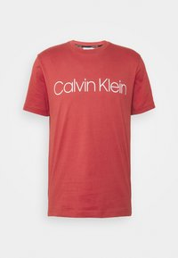 FRONT LOGO - Print T-shirt - red