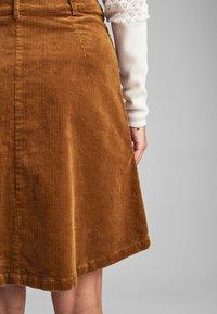 Nümph - NUMEGHAN - A-snit nederdel/ A-formede nederdele - bronze - 3