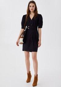 LIU JO - Shift dress - black - 1