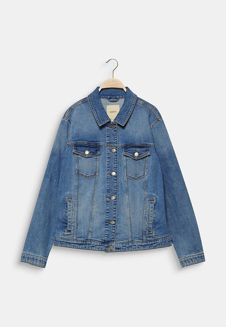 CURVY IM BASIC LOOK Veste en jean blue medium washed