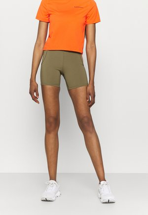 Sports shorts - covert green