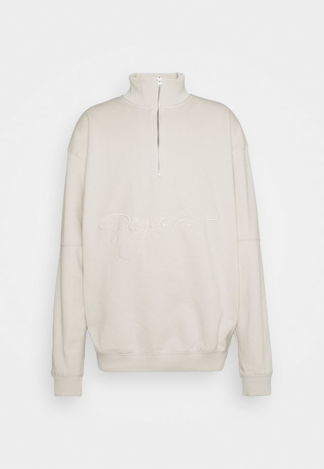 ARIZONA HALFZIP  UNISEX - Sweatshirt - coconut milk