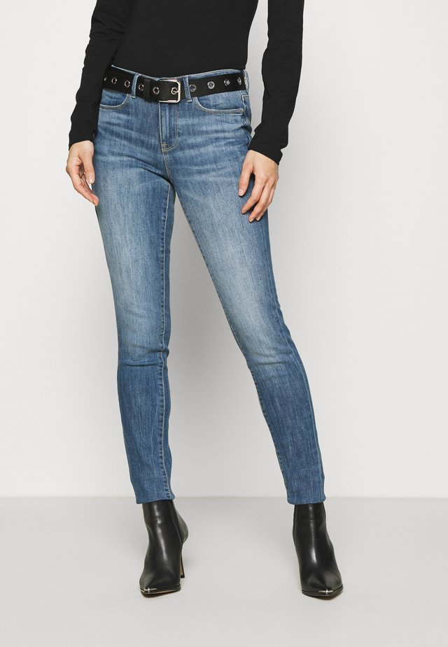 Jeansy Skinny Fit - soldier