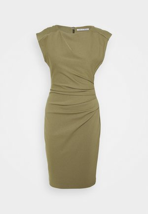 MISTRETCH - Vestito di maglina - palm green