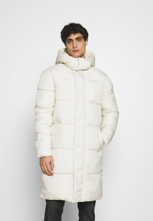 MODERN PUFFER COAT - Winter coat - smoke white