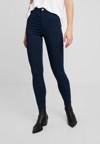Vero Moda - VMJOY MIX - Jeans Skinny Fit - dark blue denim - 0