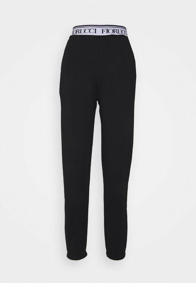 WAISTBAND LOGO JOGGER - Teplákové kalhoty - black