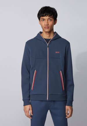 SAGGY 1 - veste en sweat zippée - dark blue