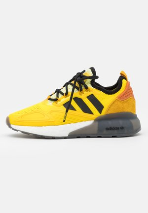 NINJA ZX 2K BOOST SHOES UNISEX - Trainers - yellow/legend gold/tech copper