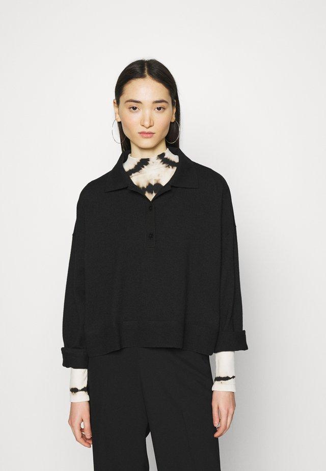 MONIQUE - Sweter - black