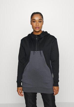 SNOWDROP 2.0 - Jersey con capucha - black/grey