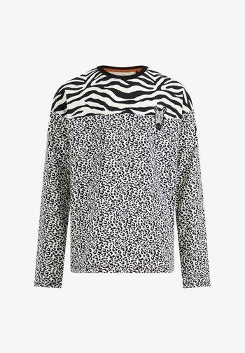 MEISJES  - Long sleeved top - white