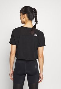 The North Face - WOMENS ACTIVE TRAIL - Print T-shirt - black - 2