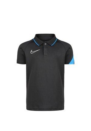 ACADEMY  - Polo shirt - anthracite/photo blue/white
