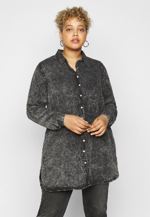 JSAINT - Shirt dress - grey stone wash