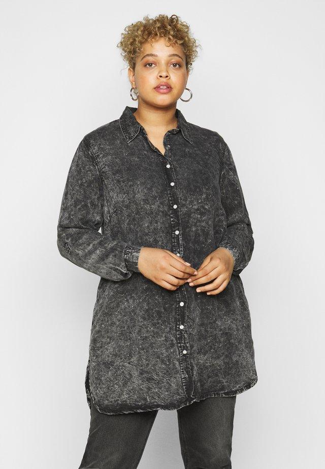 JSAINT - Sukienka koszulowa - grey stone wash